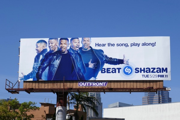 Jamie Foxx Beat Shazam season 2 billboard