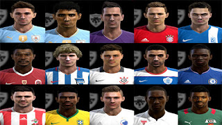 Facepack V5 Pes 2013 By Pablobyk
