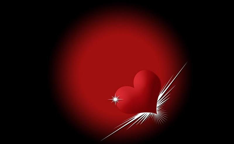 Beautiful Heart Wallpapers ~ Hampix