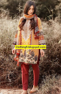 Edenrobe Winter Unstitched Collection 2016-2017
