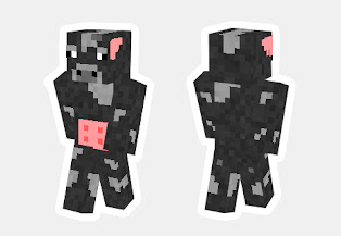 skin de vaca minecraft