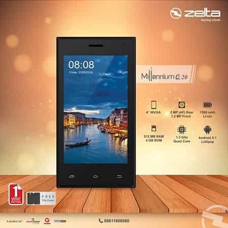 Zelta Millennium Q20 Smartphone