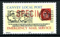 Canvey Local Post Emergency Mail Service Specimen Stamp