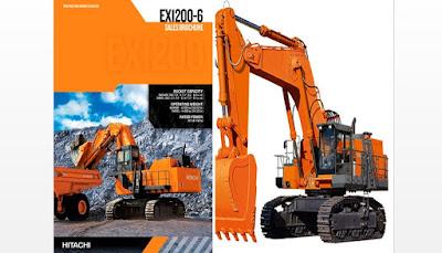 Materi tentang Excavator Hitachi EX1200-6