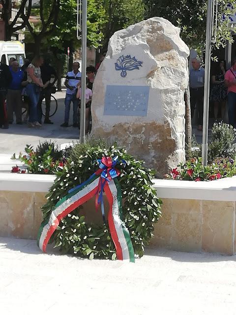 San Severo (FG), la cerimonia di intitolazione del Larghetto M.llo Magg. Vincenzo Carlo Di Gennaro
