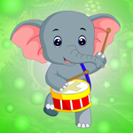 G4K Drummer Elephant Escape