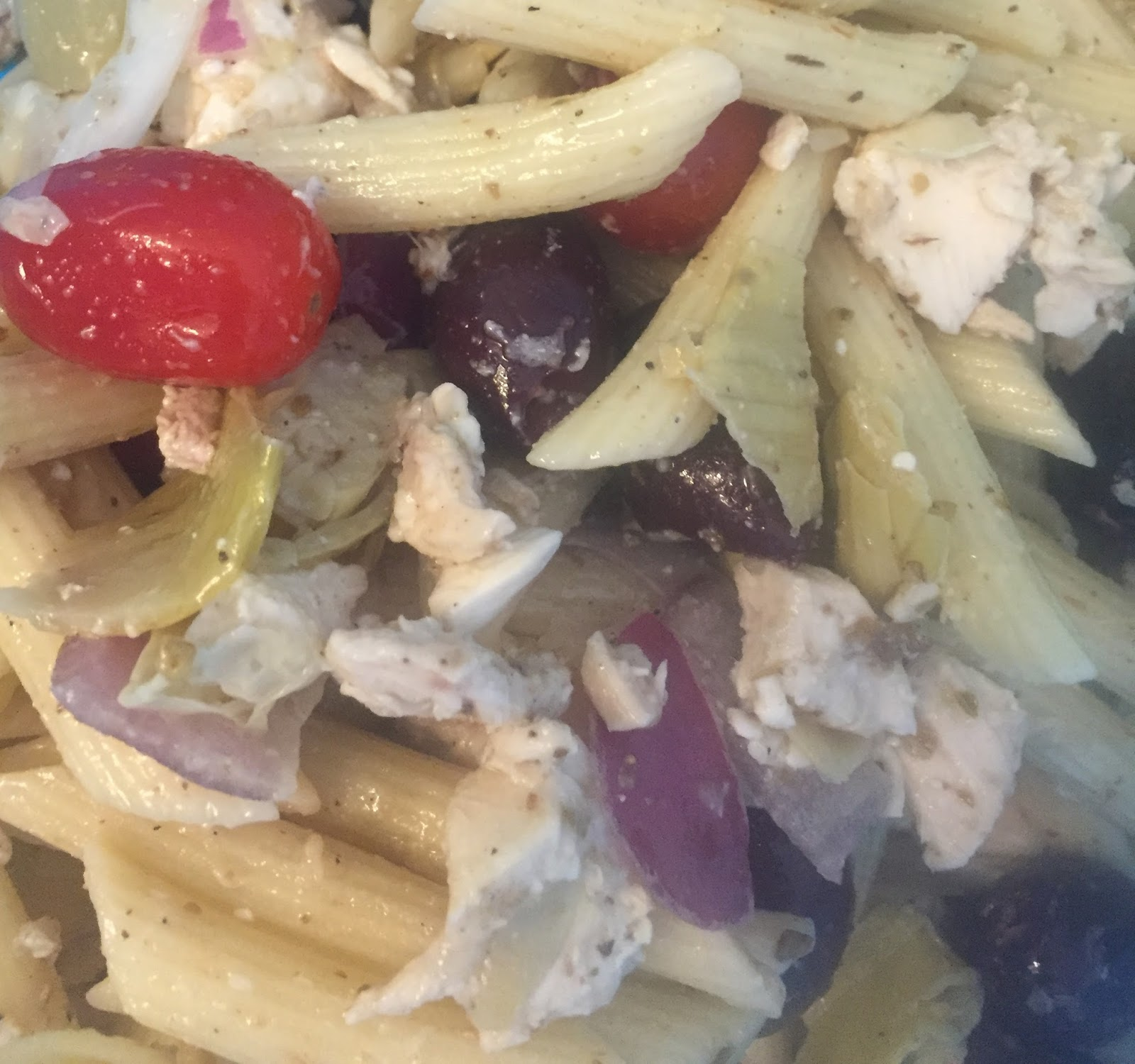 Tiffanys Recipes Costco Greek Pasta Salad
