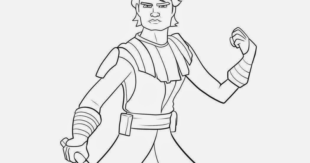 Anakin Skywalker Coloring Pages - Sanfranciscolife