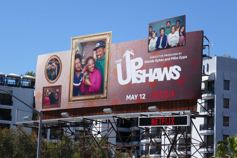Upshaws Netflix series billboard