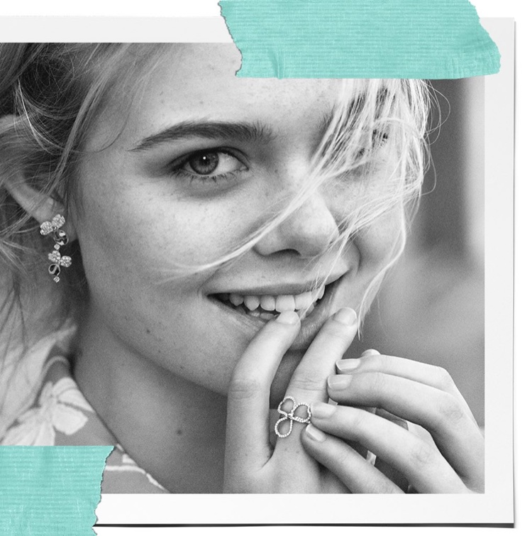 Actress Elle Fanning appears in Tiffany & Co. 'Believe in Dreams' campaign