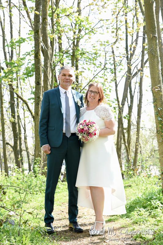 portrait photo couple mariés, séance mariage