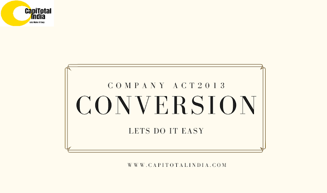 Conversion of Public company into Private Company
