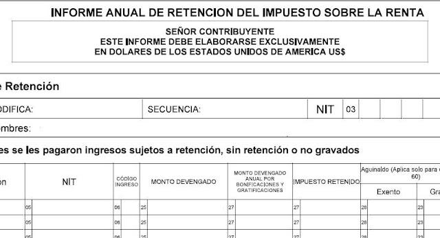 Descargar Borrador F910 Informe Anual de Retención del Impuesto Sobre la Renta Versión 8