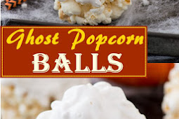 Ghost Popcorn Balls