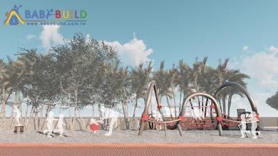 BabyBuild 兒童遊戲場規劃示意圖