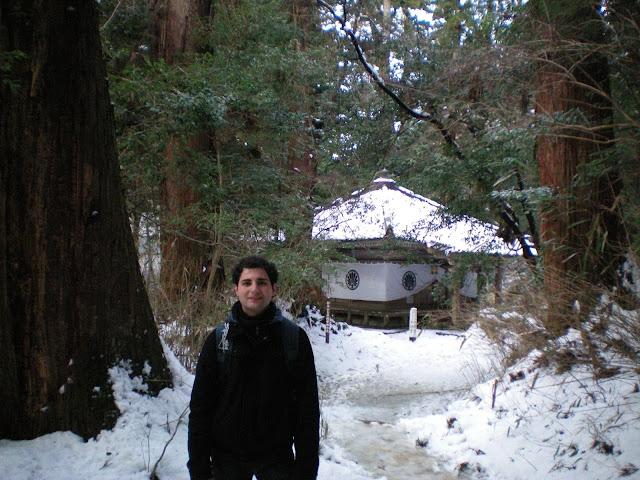 Templo en la ruta de Kibune a Kurama
