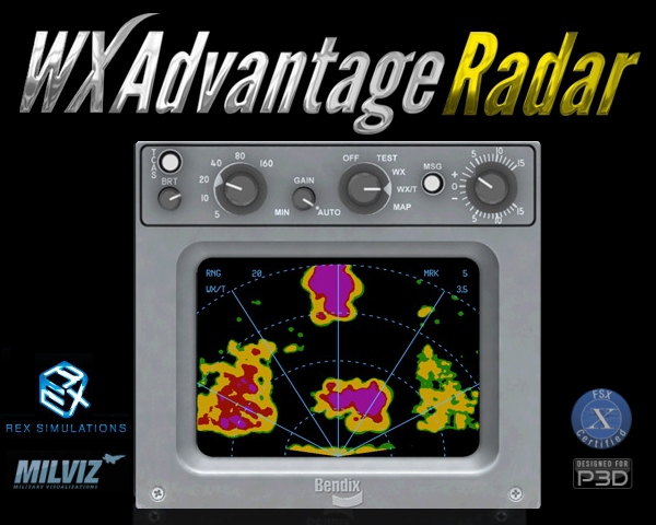 FSX/FSX:SE/P3Dv3/P3Dv4] - REX Simulations/Milviz - WX Advantage