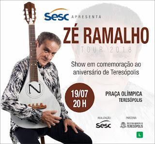 Zé Ramalho em Teresópolis