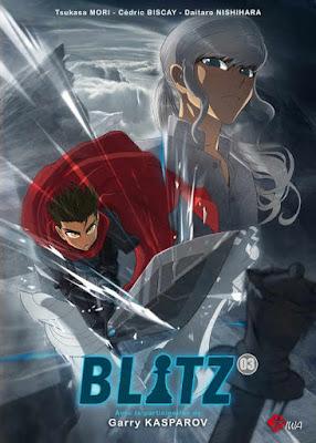 Tome 3 de Blitz, le manga consacré au jeu d'échecs