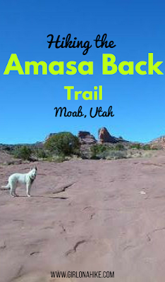 Hiking the Amasa Back Trail, Moab