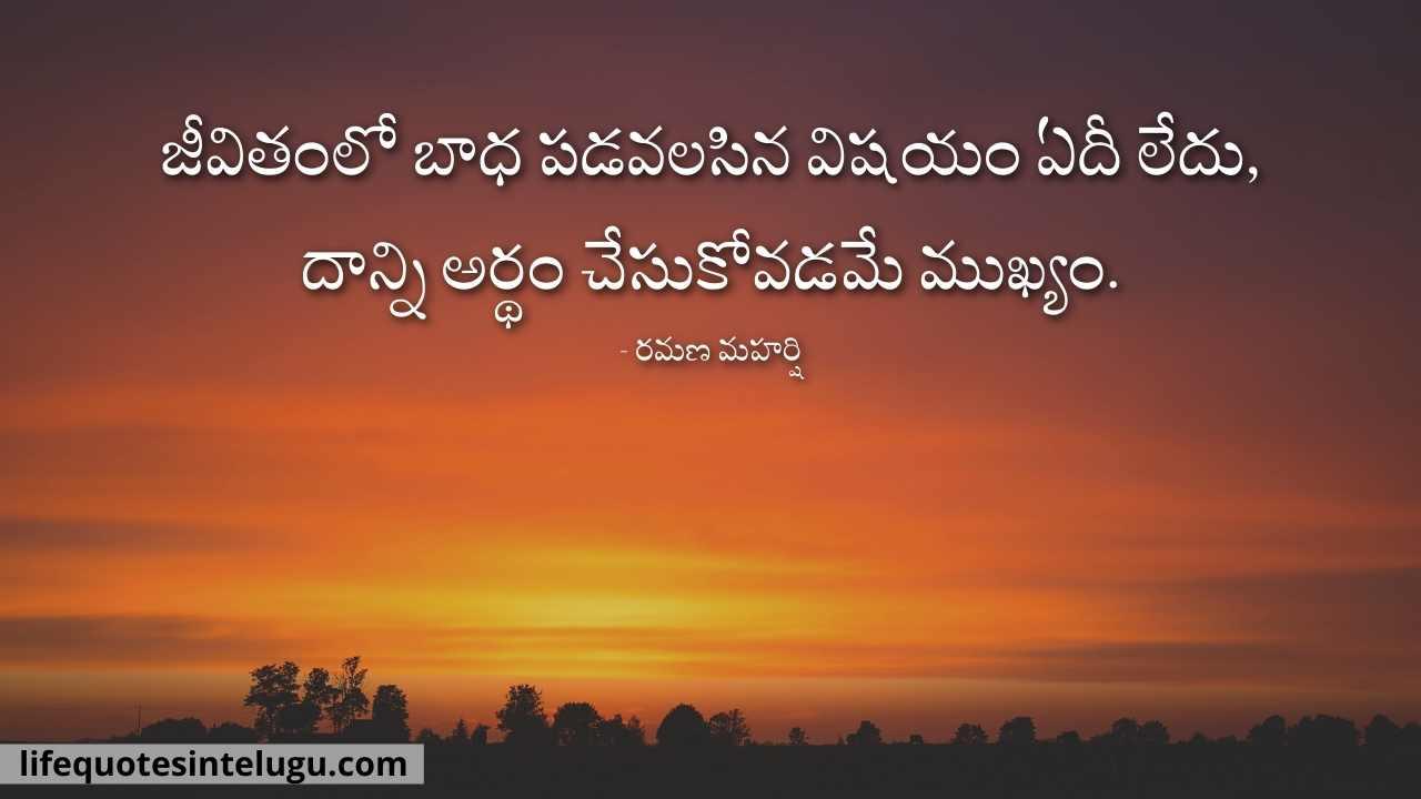 Sad Quotes In Telugu, Sad Life Telugu Quotes, Sad Motivational