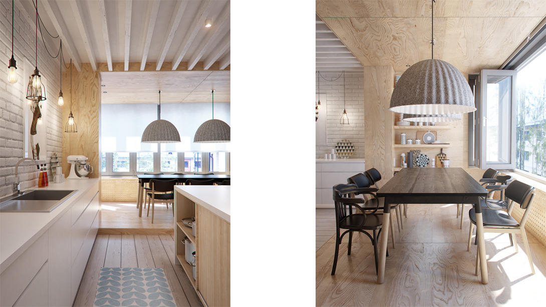 Appartamento interior id by int2architecture arc art for Zona pranzo design