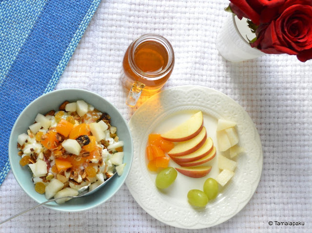 Cottage Cheese with Fruits
