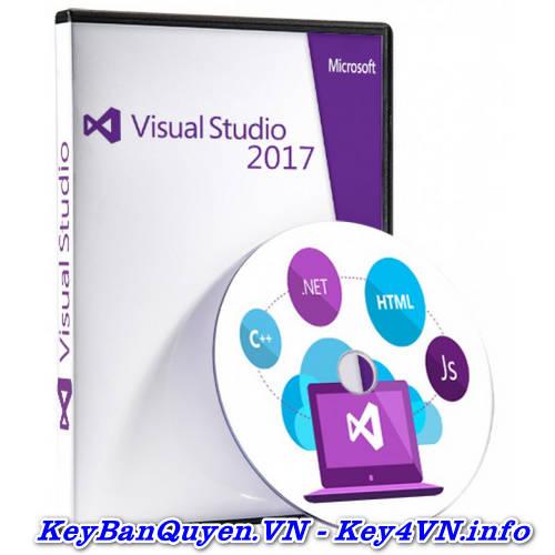 Mua Bán Key Bản Quyền Visual Studio 2017 Enterprise Uy Tín.