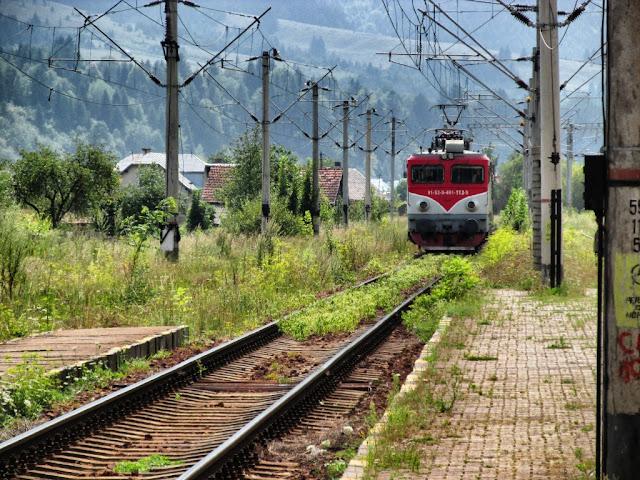 Locomotivã electricã - gara Vama - blog FOTO-IDEEA