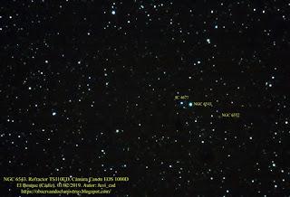 Astrofotografia de la nebulosa Ojo de Gato