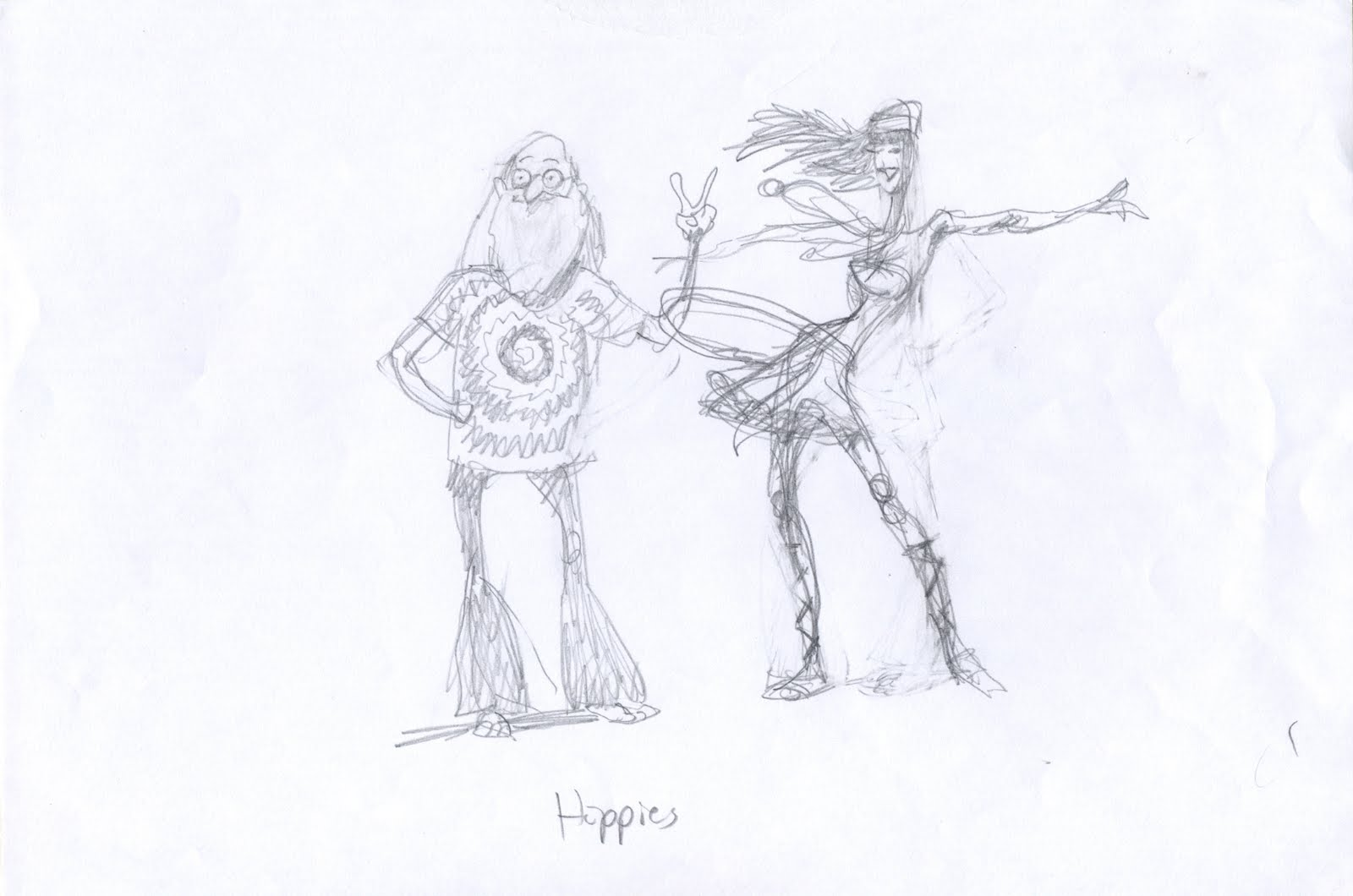 Scribble Junkies: Hippies