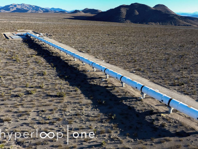 Futuristic transport system Hyperloop