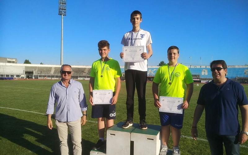 Τρία μετάλλια και πολλά ρεκόρ για τους Παμπαίδες - Παγκορασίδες του Εθνικού Αλεξανδρούπολης