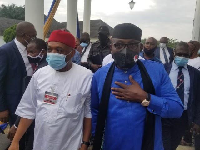 2023: What Orji Kalu, Okorocha discussed about Igbo Presidency