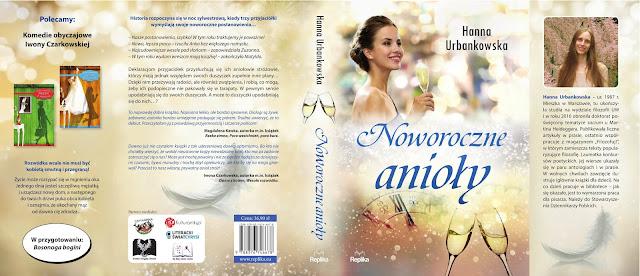 """Zapowiedź """"Noworoczne anioły"""" Hanna Urbankowska"""