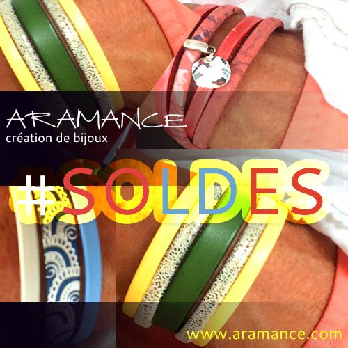 Soldes bijoux fantaisie ARAMANCE
