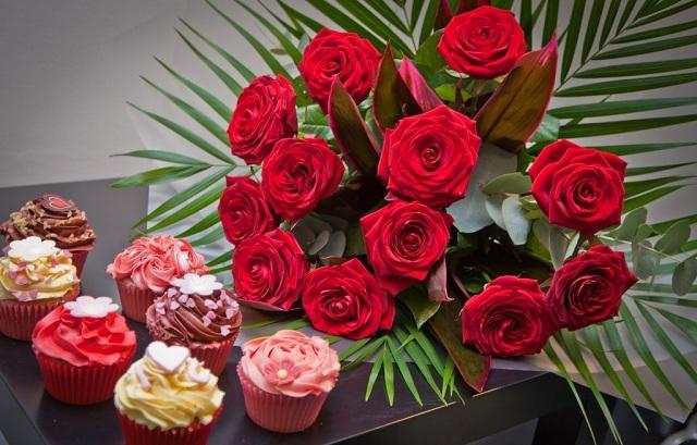 Bó hoa hồng đỏ đẹp nhất thế giới