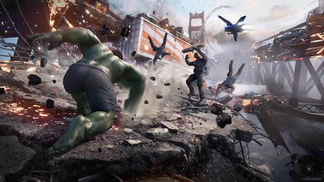 Imagem do Marvel's Avengers