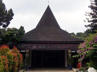 Kapel St.Maria Degli Angelica di Laverna Pringsewu