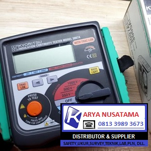 Jual Megger Grounding Tester Kyoritsu 3007a di Probolinggo