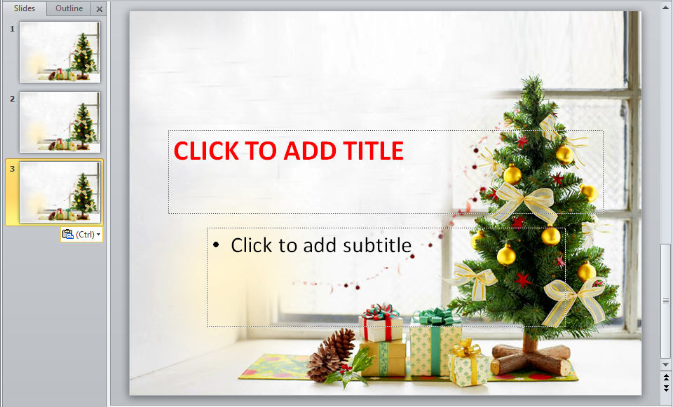 free download 2012 christmas powerpoint backgrounds and
