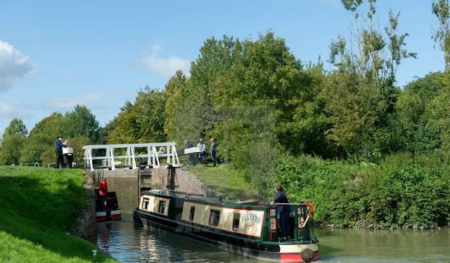 Kennet & Avon Canal Wiltshire (england)