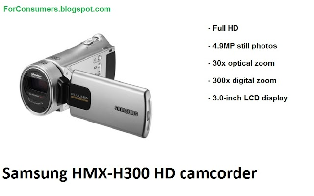 Samsung HMX-H300 HD camcorder test and review