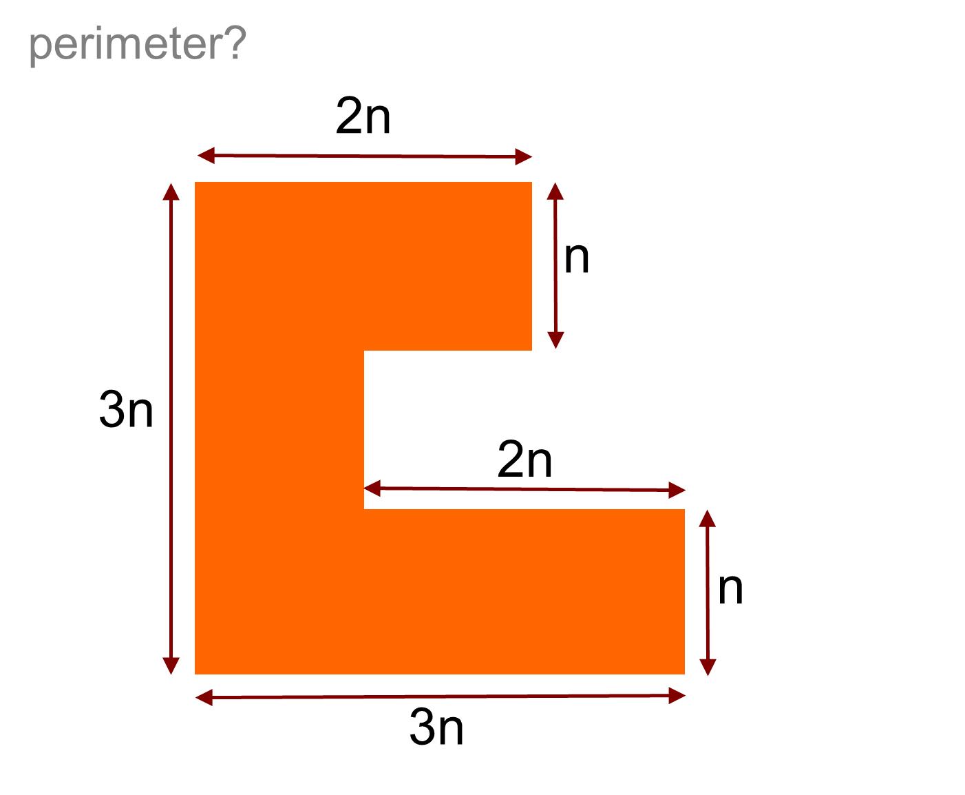 Median Don Steward Mathematics Teaching L Shaped Perimeters