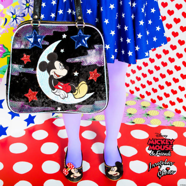 irregular choice disney mickey mouse limited edition preview