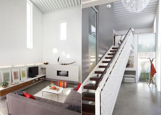 interior staircase wall design