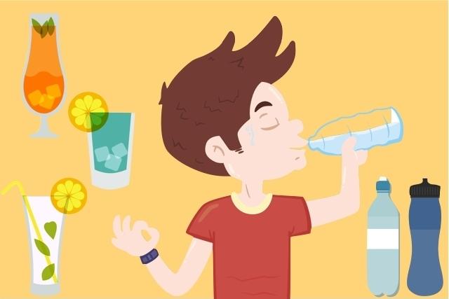 Acredita-se que todos os adultos precisam beber cerca de 2 litros de água por dia, no entanto essa quantidade é uma estimativa.