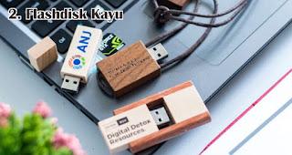 Flashdisk Kayu merupakan salah satu jenis flashdisk unik yang cocok dijadikan souvenir