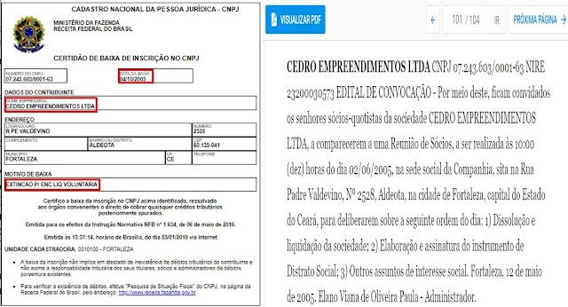 INVESTIGAÇÃO JORNALÍSTICA: Mais revelações bombásticas sobre a expulsão da Comunidade do Engenho em Ribamar