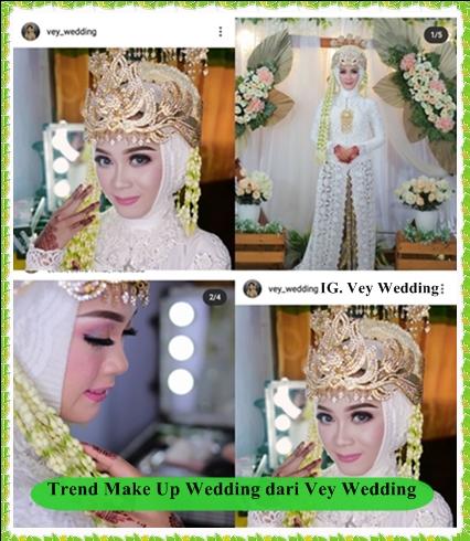Trend Makeup Wedding dari Vey Wedding